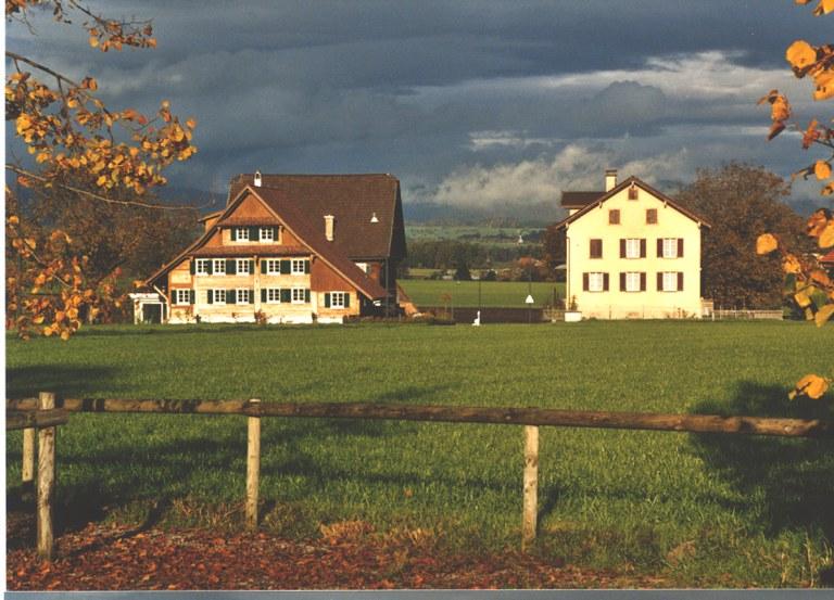 Häuser des 17. bis 20. Jhs. Cham (ZG)