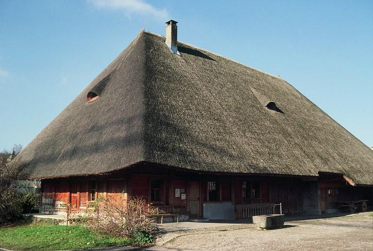 Strohdachhaus von 1801 Kölliken (AG)