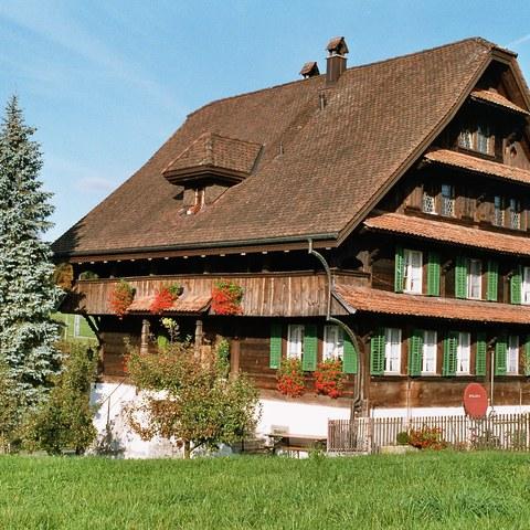 Wohnhaus von 1792 Cham (ZG)