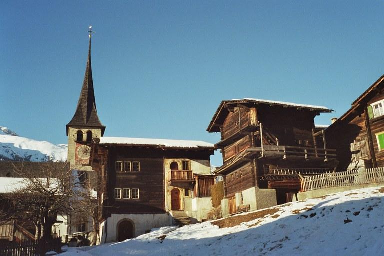 Dorfbild von Ernen Ernen (VS)