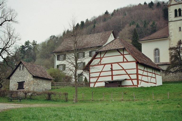 Pfarrscheune (1535) in Merishausen (SH)
